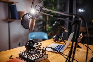 Podcasts for PR and marketing